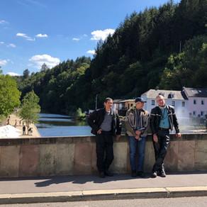 Balade Luxembourg du 26 aout 2018: 549KM