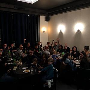 Dinner des familles du GMC-BXL
