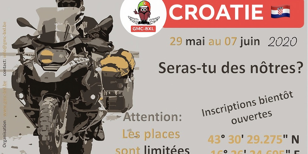 Road-Trip Croatie 2021
