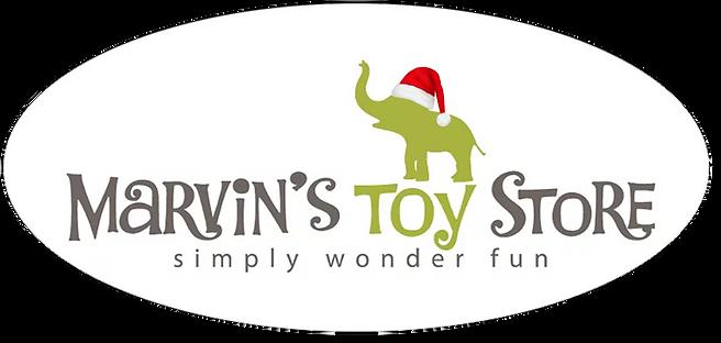 Marvin logo with Santa hat.png