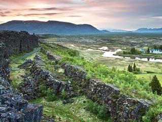 Pílagrímagangan frá Þingvöllum í Skálholt á Skálholtshátíð 22 júlí.