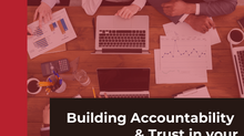Building Accountability and Mutual Trust in your Project Meetings