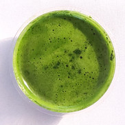 Wheatgrass shot