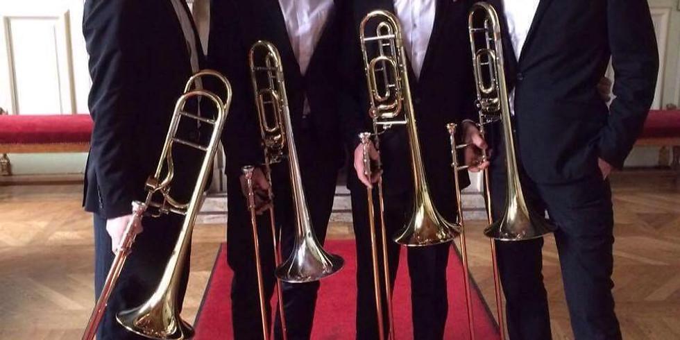 ANNULE COVID -- Lutetia Trombone Quartet - Festival Musique d'été