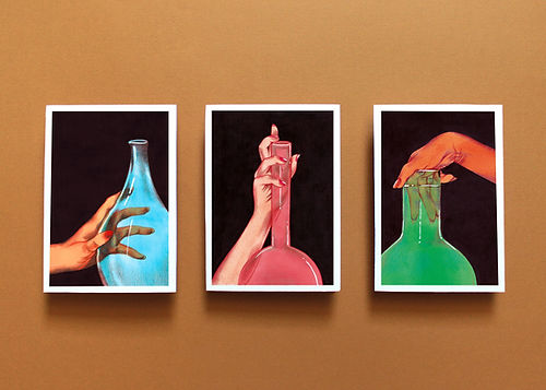 illustration prints art artworks still life hands glass coloured erotic beautiful