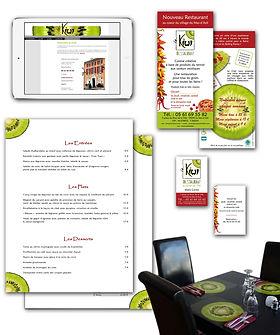 creation charte graphique logo site internet plaquette