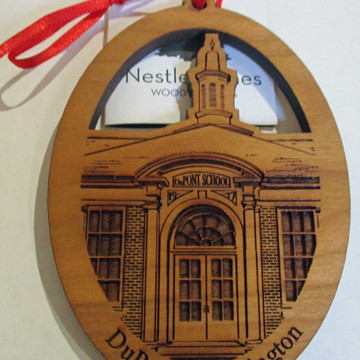 DuPont School Ornament