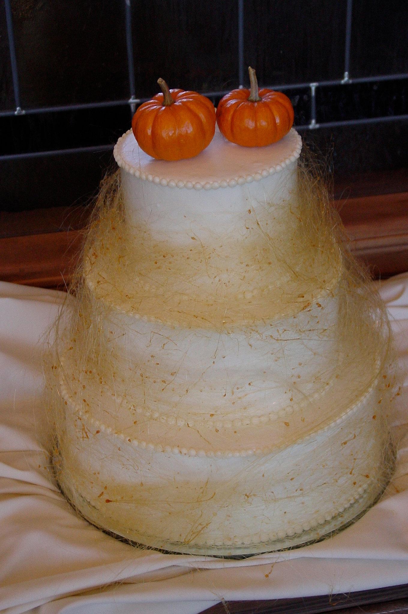 Spun Sugar Cake