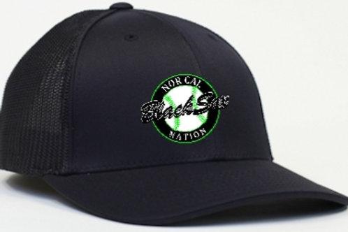 Flex Fit Cap Black/Black (Circle Logo)