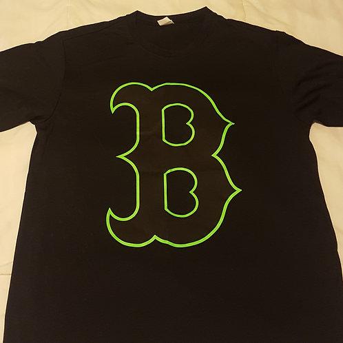 Mens Black Dri-Fit (B Logo)