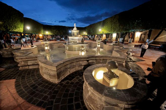 El hermoso Jardín Guerrero