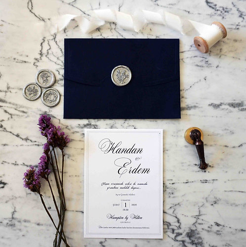 Handan Wedding Invitation Suite