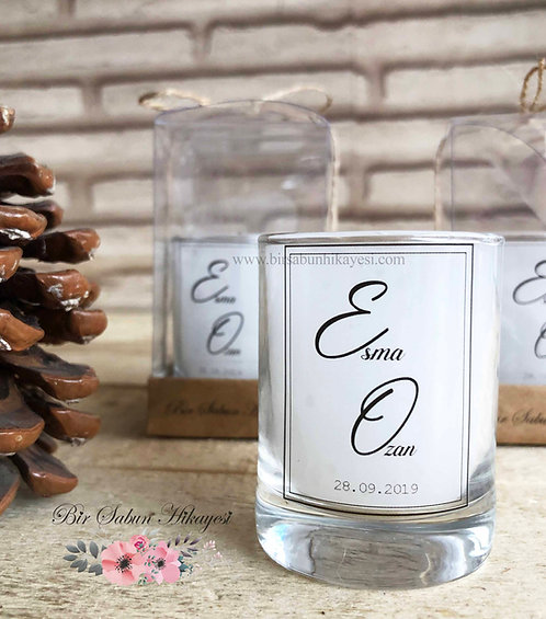 Esma White Dream Candle Series