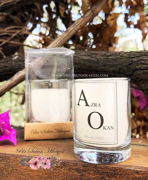 Azra White Dream Candle  Series