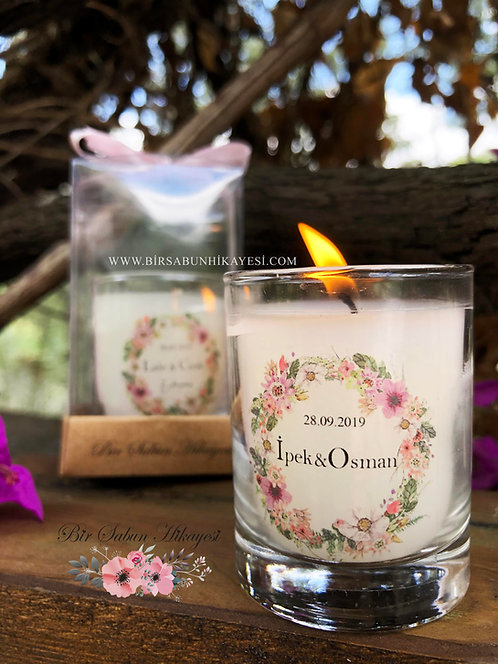 Ipek White Dream Candle  Series