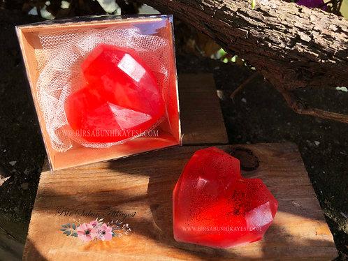 3D Cristal  Red Heart