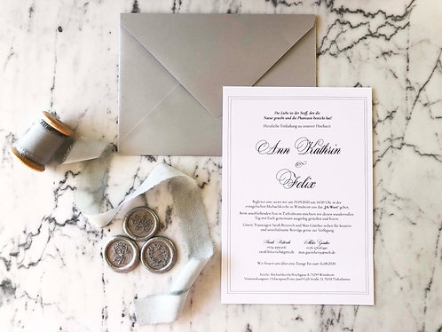 Felix Wedding Invitation Suite