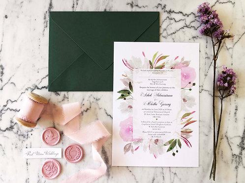 Ashok Wedding Invitation Suite