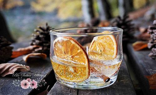 Private Mandarin&Cinnamon Gel Candle