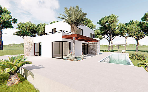 Casa Tosalet Dream Modelo A Xàbia