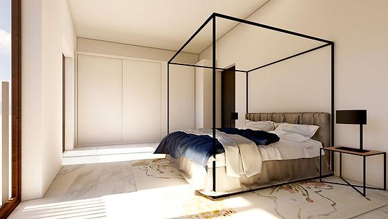 Dormitorio 4 Ronda Sud Jávea (Alicante)