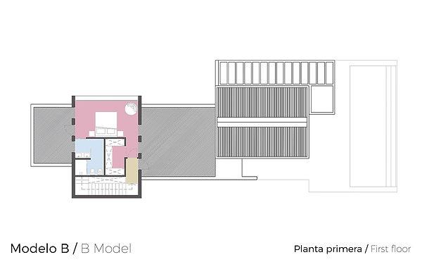 Plano Planta Primera Tosalet Dream Modelo B