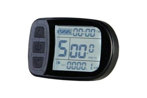 Display LCD multifunções KT-LCD5 36V 48V waterproof