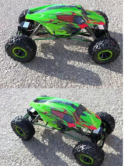Carro elétrico 1:10 HSP Rock Crawler Pangolin Verde