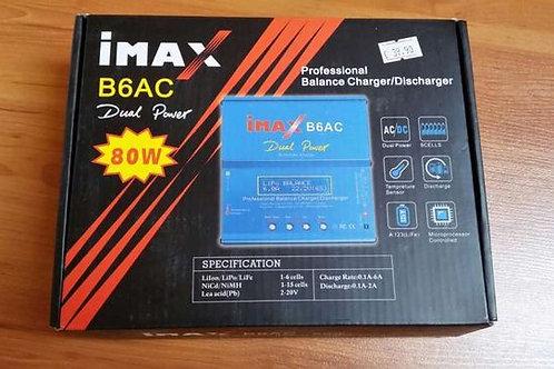 Carregador baterias RC profissional IMAX B6AC Li-Po Li-Ion Ni-Mh Ni-CD SLA