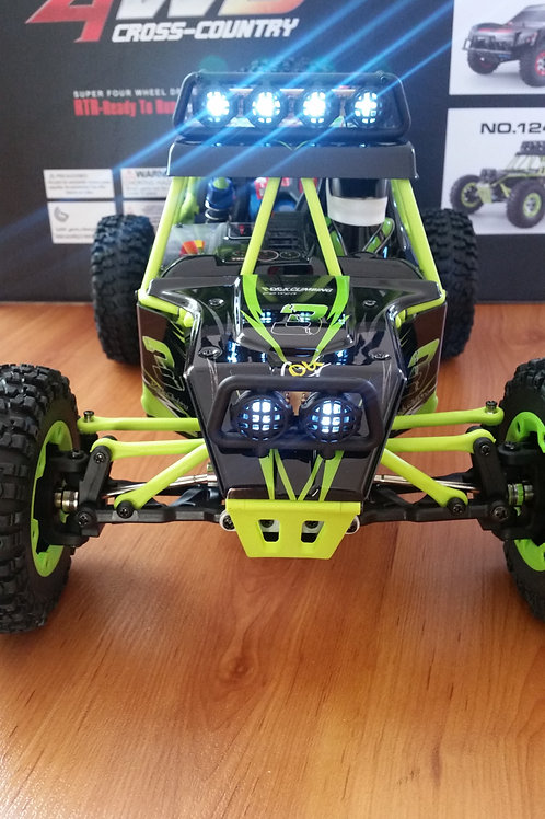 Carro elétrico 1:12 Cross Crawler WLtoys 12428 V2