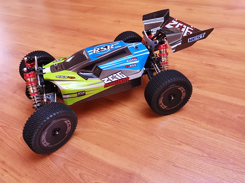 Carro RC Buggy Wltoys XKS 144001 XKS 4X4 1:14 60Kmh Li-po