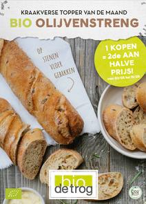 Brood van de maand - olijvenstreng (mei)