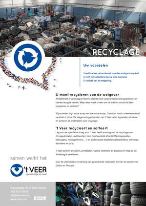 't veer recyclage fiche