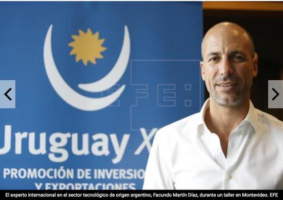 EFE: Experto argentino capacita a emprendedores uruguayos para globalizar sus empresas