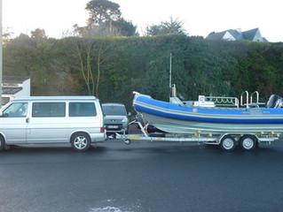 Arrivée de notre bateau - Le Jambo