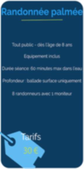 Randonée Palmée_Résumé visuel activités.