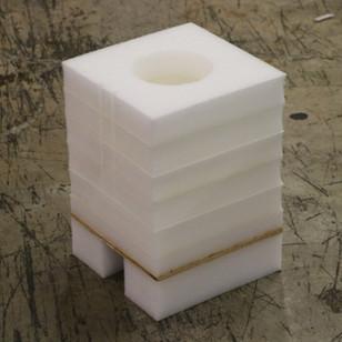 Polyethylene and Corrugated Insert
