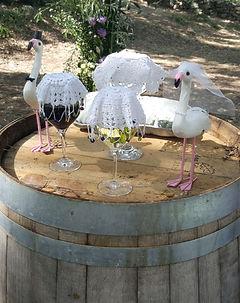 Rustic Wine Ceremony