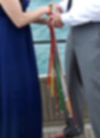 Handfasting on a Yacht