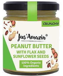 Peanut Butter with flax and sunflower se