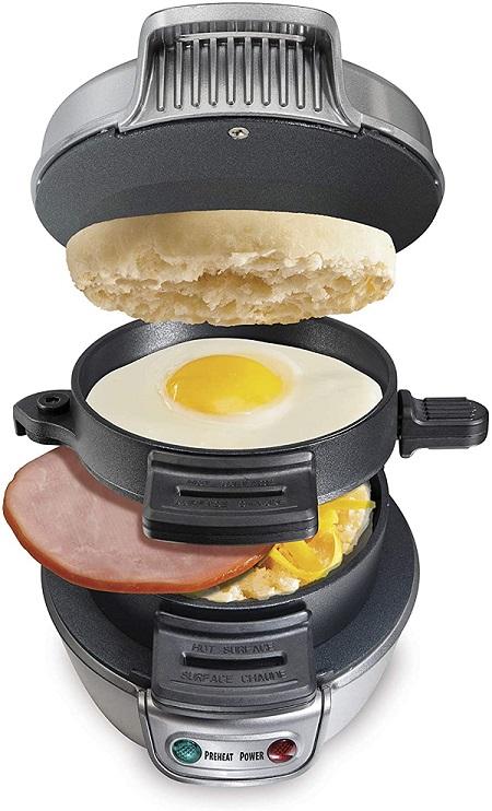 Best affordable beach breakfast sandwich