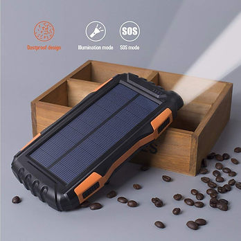 Best Portable Solar Power Bank With LED