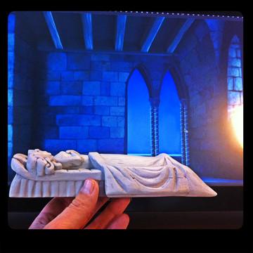 Sculpture pour maquette de présentation