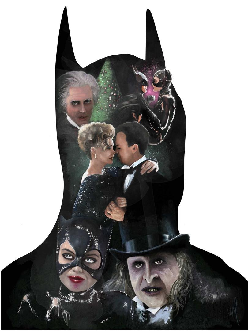 "Affiche ""Batman Returns"""