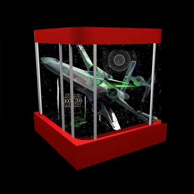 Modelisation 3D de vitrine