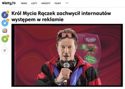 Król Mycia Rączek w mediach