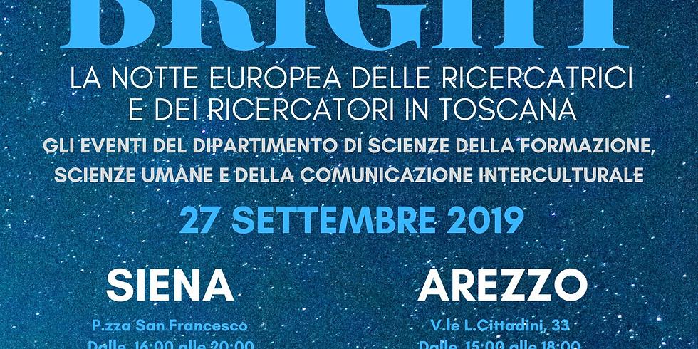 SUPER@BRIGHT! la notte europea dei ricercatori e delle ricercatrici