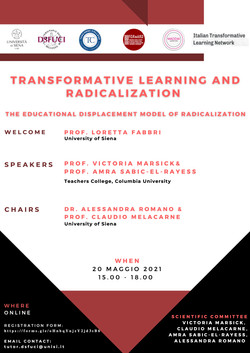 Transformative Learning and Radicalization. The Educational Displacement Model of Radicalization