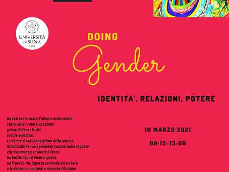 Doing Gender. Identità, relazioni, potere