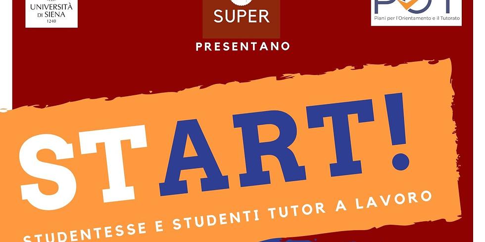Start! studentesse e studenti tutor a lavoro